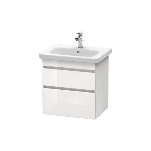 West One Bathrooms Online Duravit DuraStyle Double Drawer Vanity Unit 580 x 448mm & DuraStyle Washbasin 650x480mm 1
