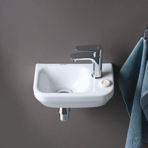 West One Bathrooms Online Duravit DuraStyle Handrinse Basin without Overflow 360x220mm