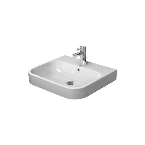 West One Bathrooms Online Duravit Happy D2 Washbasin Furniture Washbasin with Overflow 650x505mm 01
