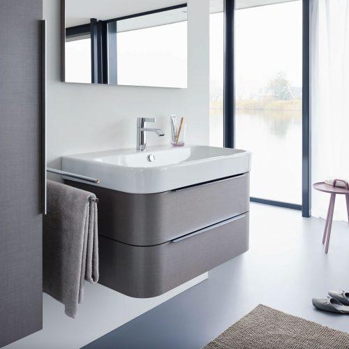 West One Bathrooms Online Duravit Happy D2 Washbasin with Overflow