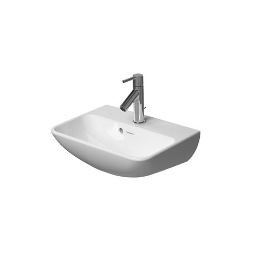 West One Bathrooms Online Duravit ME by Starck Handrinse Basin with Overflow 450 x 320mm 01