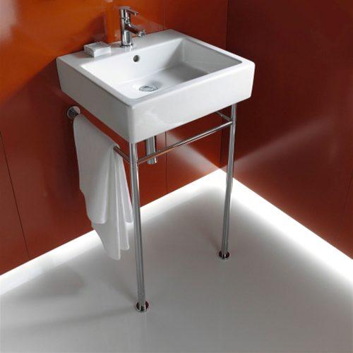 West One Bathrooms Online Duravit Vero Air Furniture Washbasin, 500 x 470mm