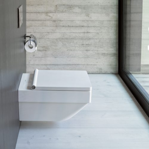 West One Bathrooms Online Duravit Vero Air Rimless Wall Hung Toilet, 370 x 570mm, Pan Only