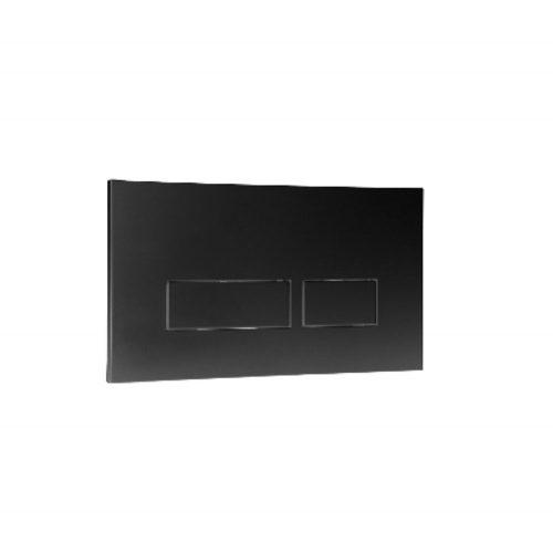West One Bathrooms Online Trend Black Flush Plate