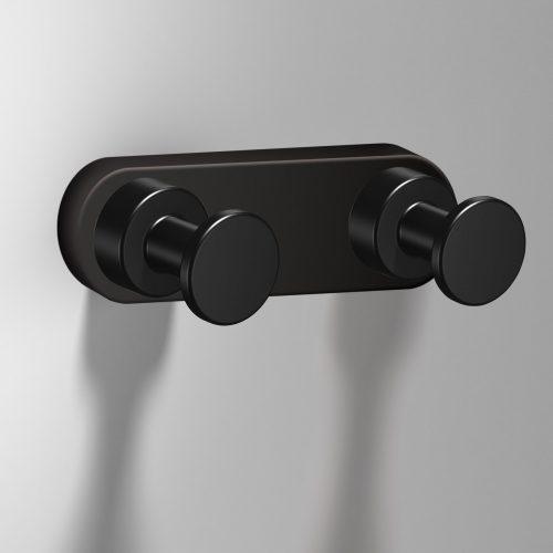 172320 tecno project black double hook