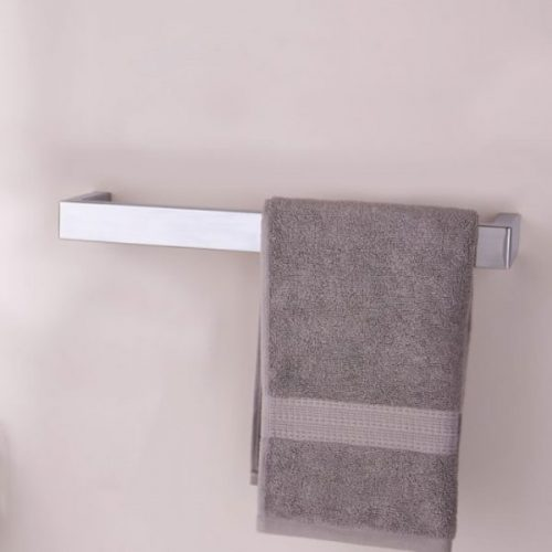 Square Close Ended Towel Bar