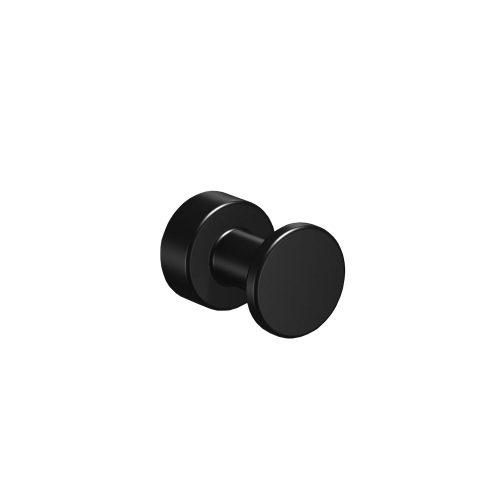 West One Bathrooms Online Tecno Project Black Robe Hook