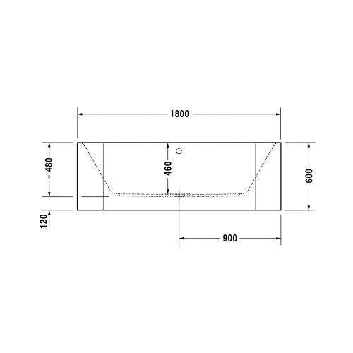 Bathwaters   Duravit   700318V
