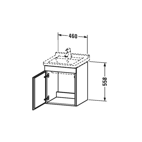 Bathwaters   Duravit   LC6168 L R 80