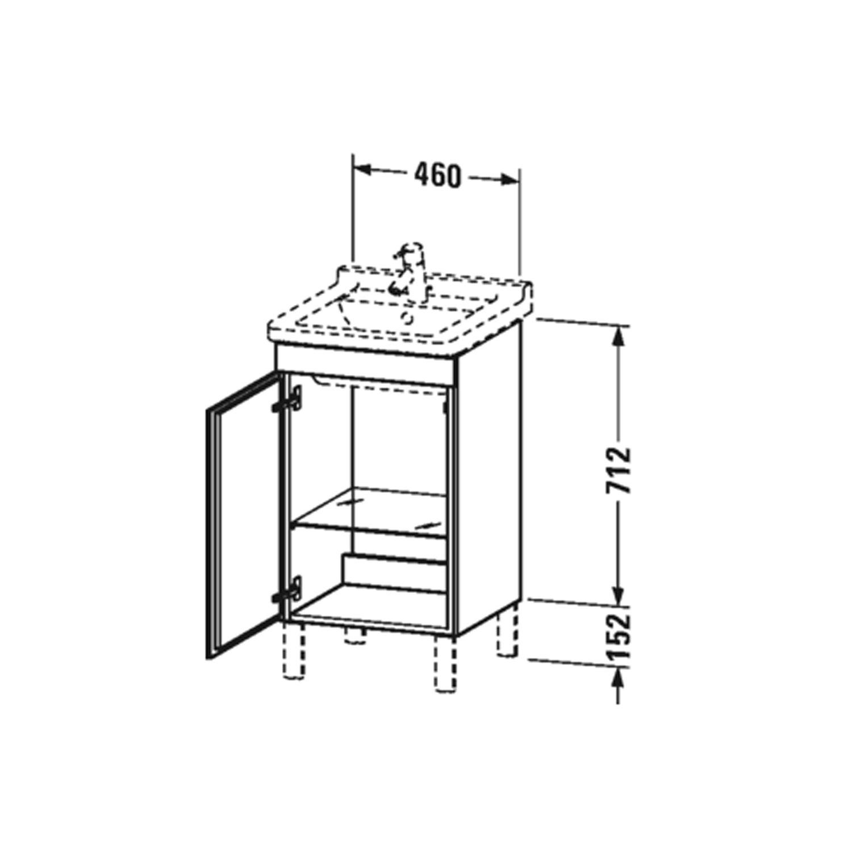 Bathwaters   Duravit   LC6169 L R 80
