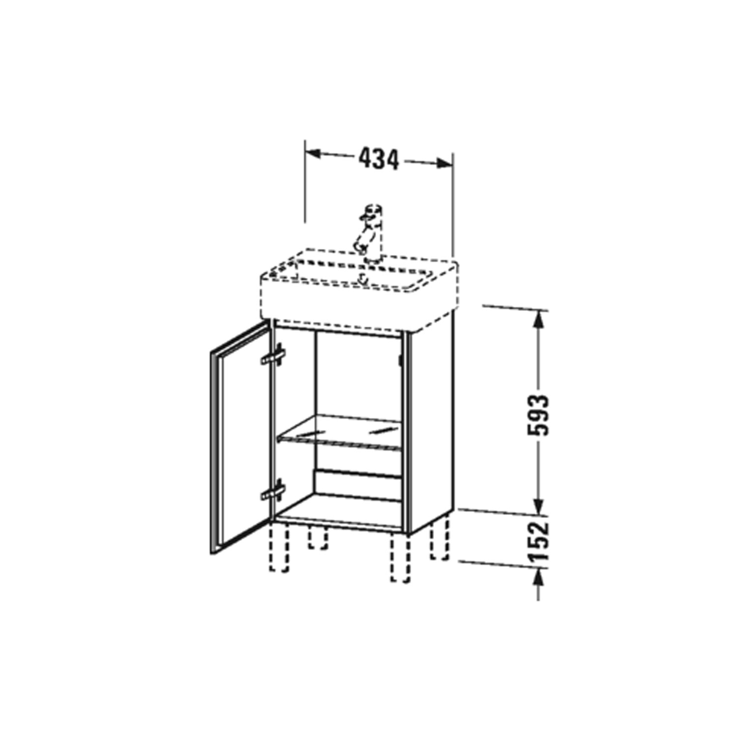 Bathwaters   Duravit   LC6750 80