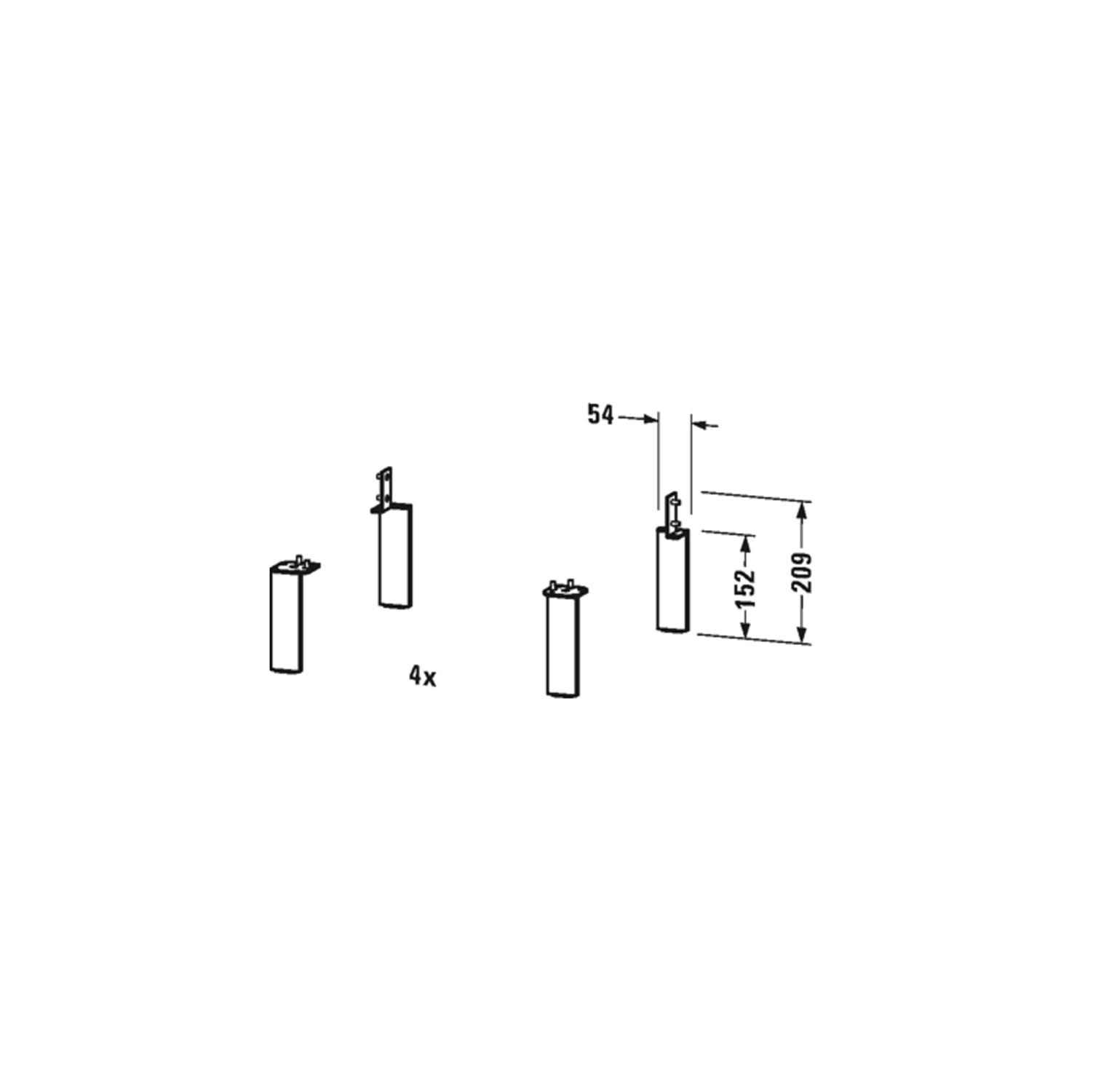 Bathwaters   Duravit   UV9994 80
