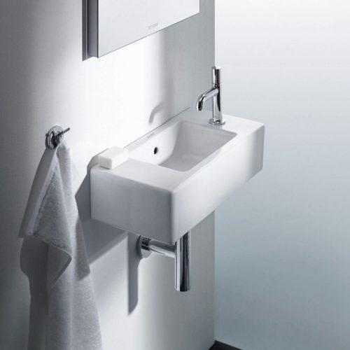 West One Bathrooms Online Duravit Vero Air Handrinse Basin 500x250mm