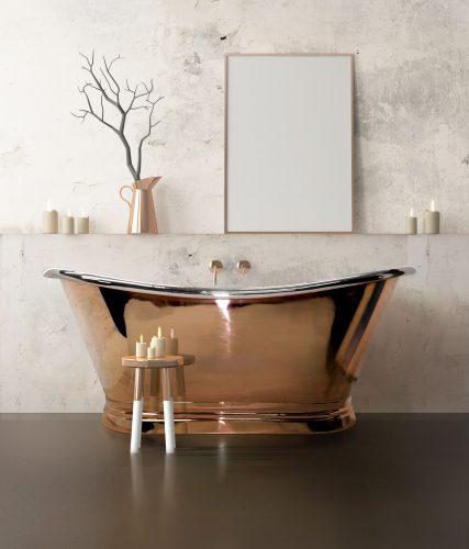 Bathwaters   BCD Copper Bath Nickel Inner Set  (1)