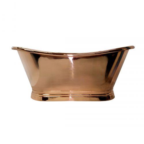 Bathwaters   BCD Copper Boat Bath CO