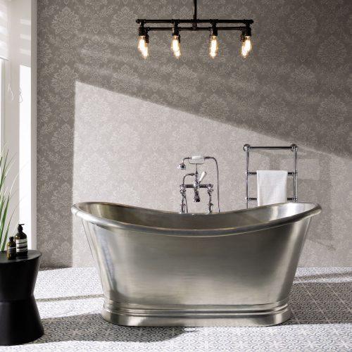 Bathwaters   BCD Tin Bath Straight On