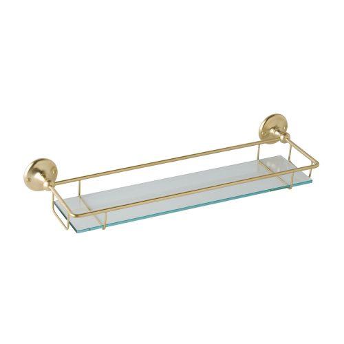 CMA020 Victrion Gallery Shelf Brushed Gold