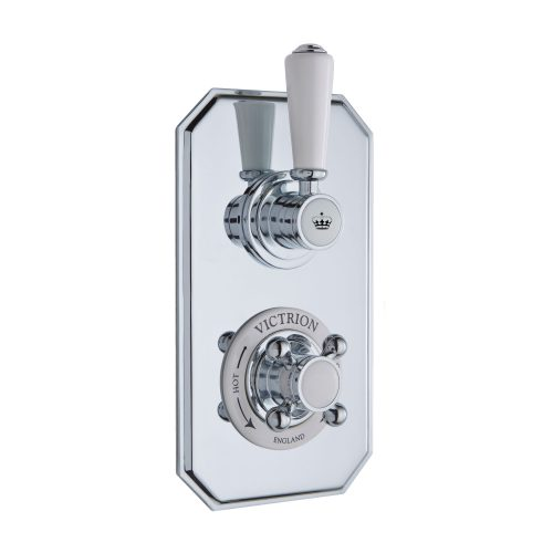 CSA020 Victrion Twin Concealed Valve CO Crown