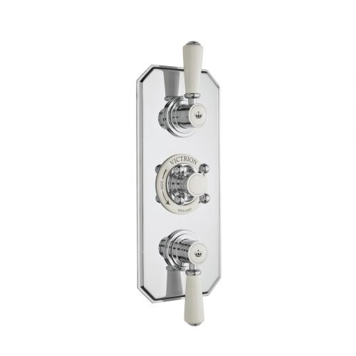 CSA030 Victrion Triple Concealed Valve CO Silver