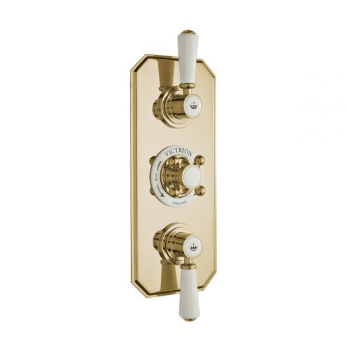 CSA030G Victrion Triple Concealed Valve CO Gold