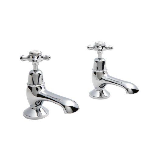 CTA010 Victrion Crosshead Bath Taps CO Chrome