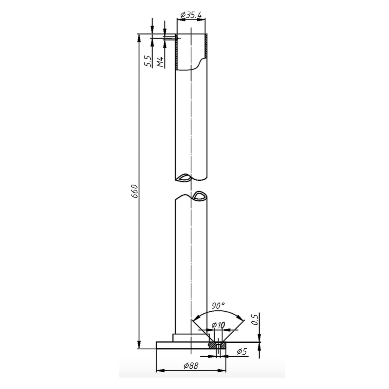 Freestanding Legs for Bath Shower Mixer Technical Bathwaters