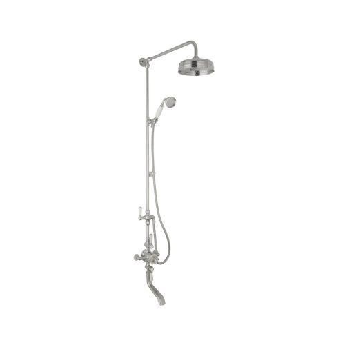 triple valve shower with spout CSA005BC