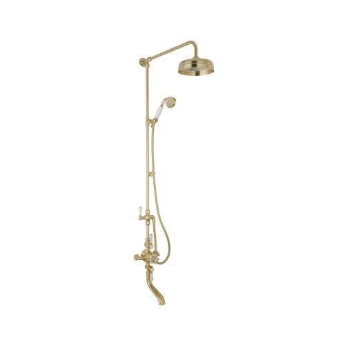 triple valve shower with spout CSA005BG