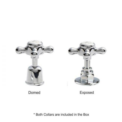 Victrion Crosshead Deck Mounted Bath Shower Mixer 146.1