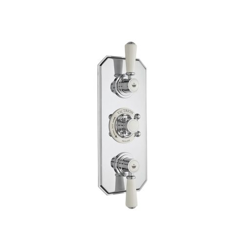 West One Bathrooms Online csa030 victrion triple concealed valve co silver 1
