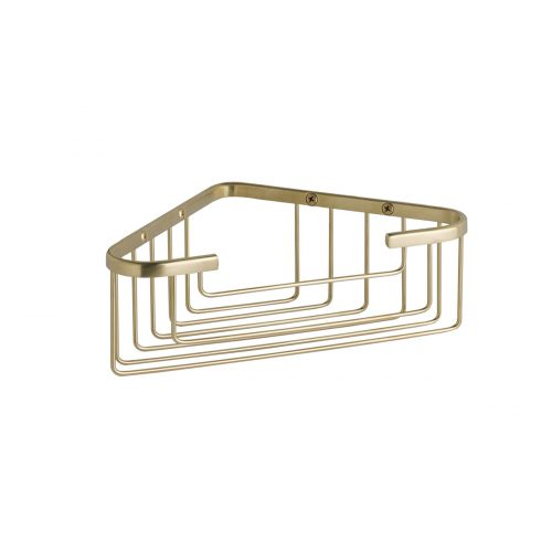West One Bathrooms Online – single corner basket CMA050BG