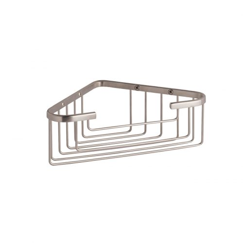 West One Bathrooms Online – single corner basket CMA050BN