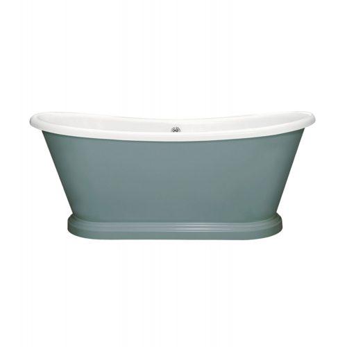 bas070 boatbath f b oval room blue 85