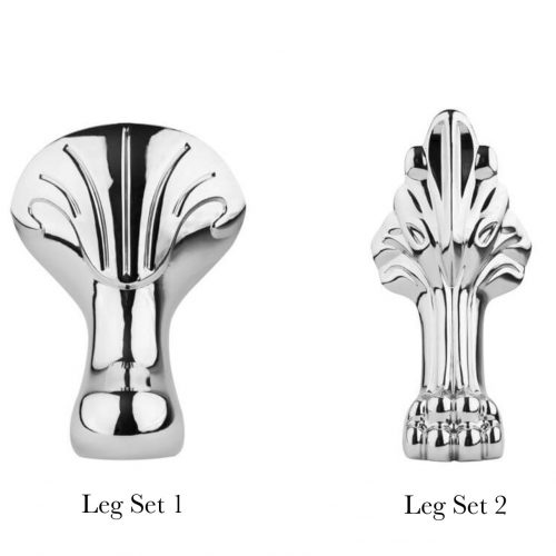 BC Designs Leg Set Options