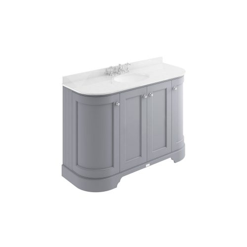 West One Bathrooms online – BAYF164 1200 – White top 3TH