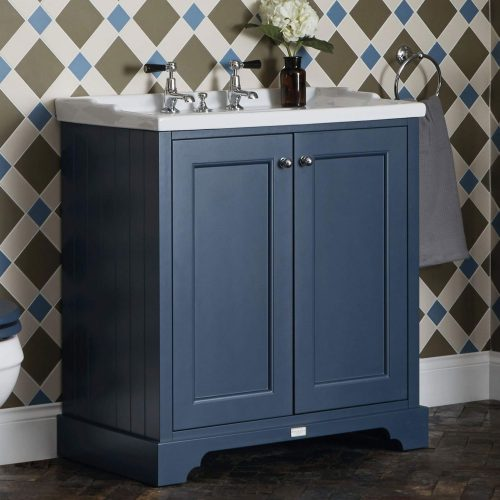West One Bathrooms Online Bayswater Two Door Basin Cabinet