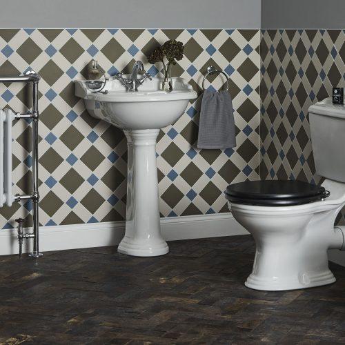 West One Bathrooms   Porchester tiled set 4