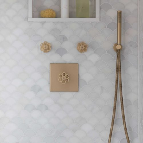 West One Bathrooms 5th Avenue Brushed Brass