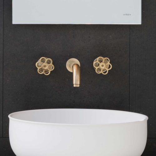 West One Bathrooms 5th Avenue Brushed Brass Soho