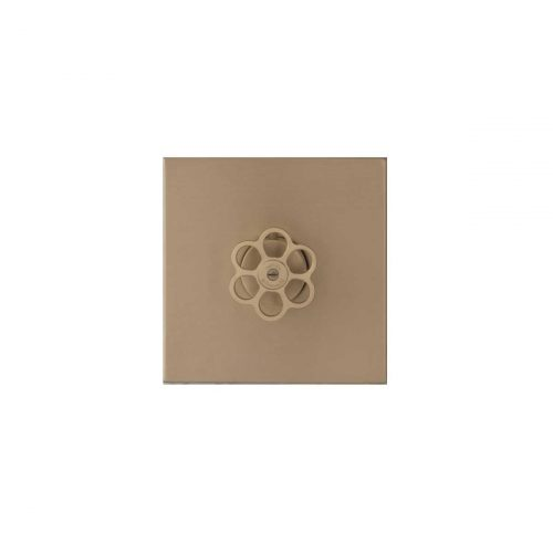 West One Bathrooms 5th Avenue Shower – Brushed Brass