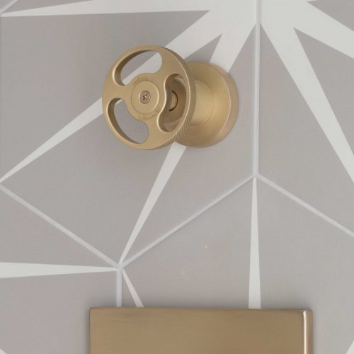 West One Bathrooms 5th Avenue Shower Valve – Brushed Brass