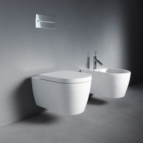 West One Bathrooms Online Duravit Me By Starck Bidet, wall hung