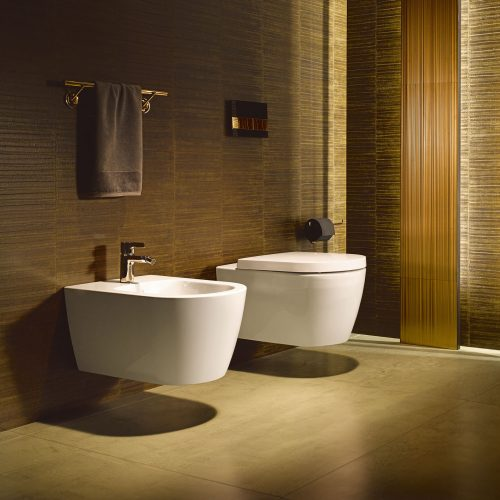 West One Bathrooms Online Duravit Me By Starck Compact Bidet, Wall Hung