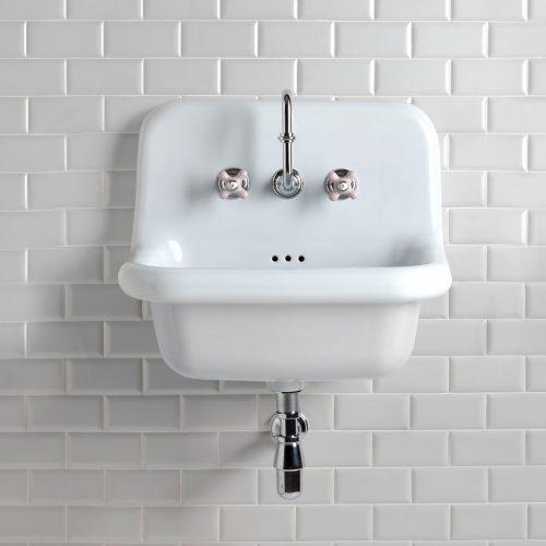 West One Bathrooms Online White Broadway Basin 2