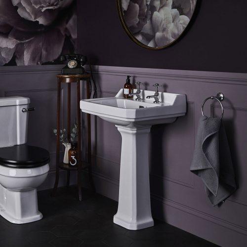 West One Bathrooms purple set 4