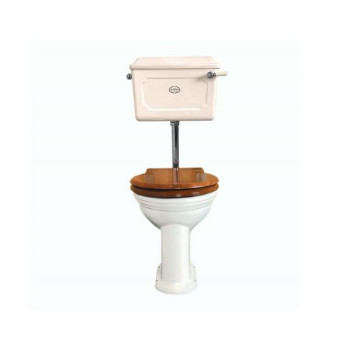 Low level Ceramic Cistern WC Set AW CP