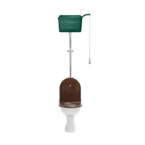 West One Bathrooms – HL 814 Cistern D shape Green CP