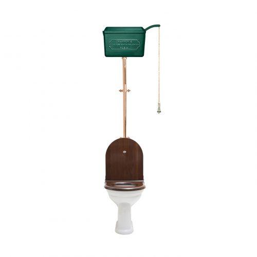 West One Bathrooms – HL 814 Cistern D shape Green PB