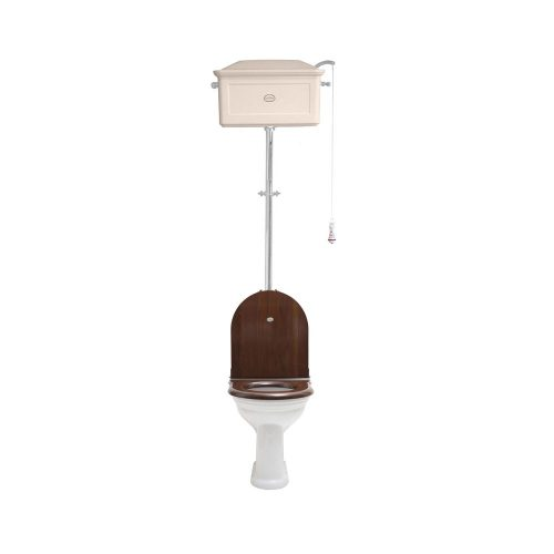 West One Bathrooms Online   High level WC Set with Ceramic Cistern AW CP