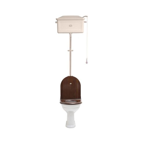 West One Bathrooms Online   High level WC Set with Ceramic Cistern AW NP